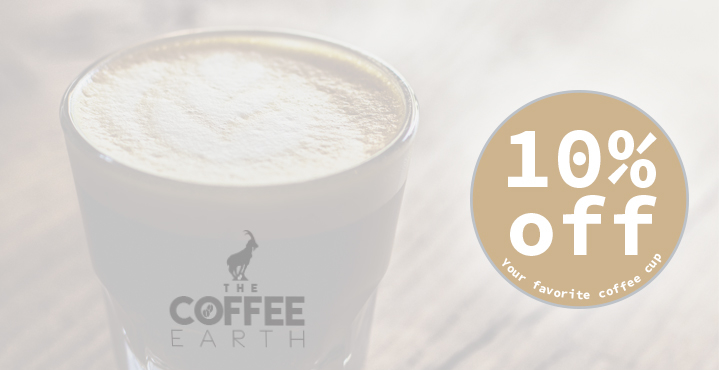 My coffee shop coupons